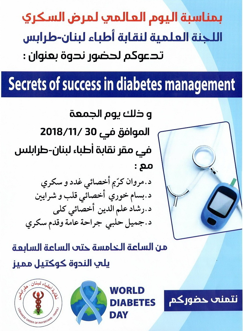 Secret Of Success In Diabetes Managements